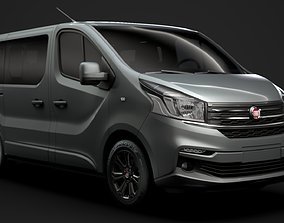 Fiat Talento Minibus SpaceClass 2020 3D