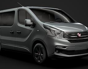 Fiat Talento Minibus SpaceClass 2019 3D model