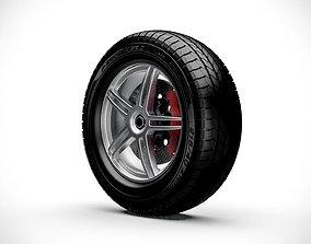 3D model Wheel v1