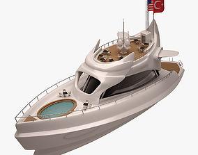 Yacht 001 3D