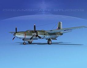 3D Douglas A-26B Invader Australia