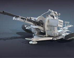 ZU-23-2 High-Poly 3D model