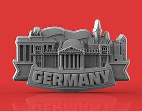 3D printable model germany souvenir