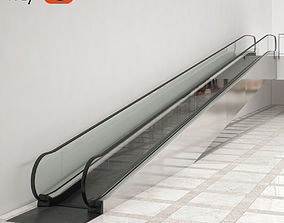 Travelator KONE TravelMaster 115 3D model