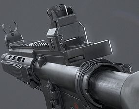 HK416D Assault Rifle 3D model