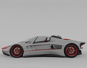 3D Lemsis Neo super sports racing car concept design