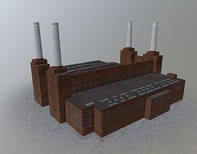 London Battersea Station 3D model