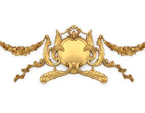 Classic decor ornament 01 3D print model