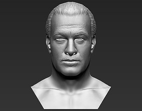 Steven Seagal bust 3D printing ready stl obj formats