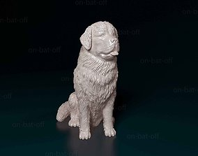 3D printable model Newfoundland dog miniatures