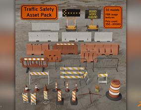 Traffic Safety Asset Pack 3D model