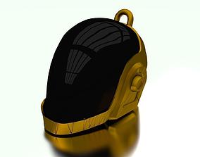 3D print model R3 Daft Punk Guy Manuel Helmet Keychain