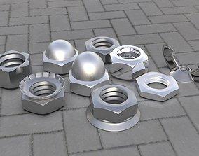 Bolt Pack 3D asset