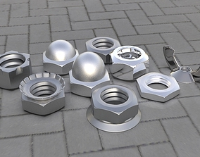 Bolt Pack 3D asset