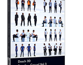 Dosch 3D - People - Casual Vol 3