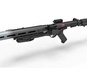 Death trooper blaster rifle E-11D Rogue One A Star Wars 3D