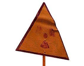 Street Sign USSR 01 04 3D asset