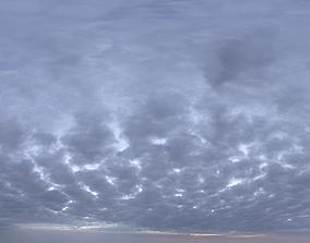 Skydome HDRI - Dusk Clouds II 3D model