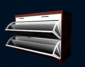3D model Shoes cabinet 2