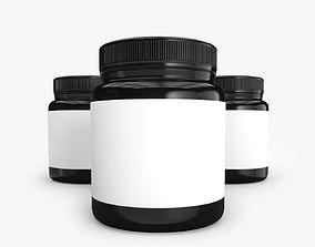 Supplement Bottle 3D