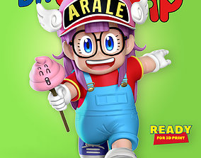 3D printable model Arale - Dr Slump Fanart