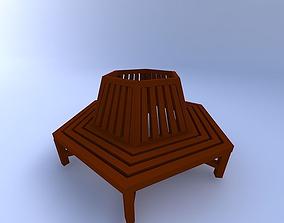 park relax Bench 3D