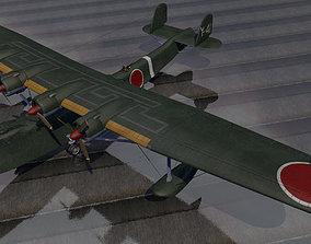 3D reconnaissance Kawanishi H6K4 Mavis