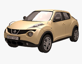 Nissan Juke 004 Yellow 3D