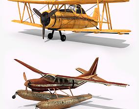 3D asset Airplanes