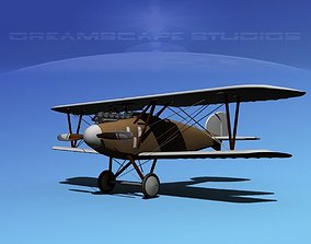 Albatross DIII WWI Fighter 3D