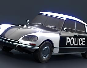 Retro Vehicle - Citroen DS - 3D asset