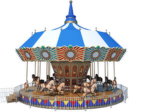 3D Carousel Horse Ride