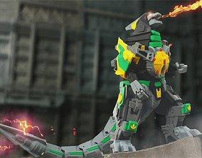 mmpr 3D Printable Dragonlord not Dragonzord
