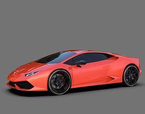 racing 3D Lamborghini Huracan