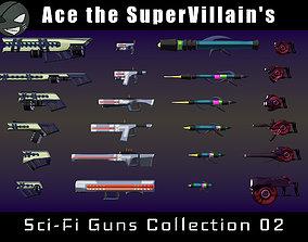 ASV SciFi Guns Volume 02 3D asset