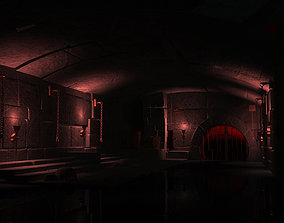 Ancient prisons dungeons cells torture chambers 3D model