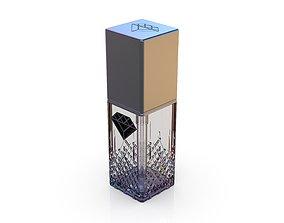 Diamond cosmetics bottle - 30x30 mm - V - 30 3D