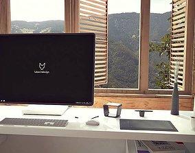 Microsoft Surface Studio 3D model