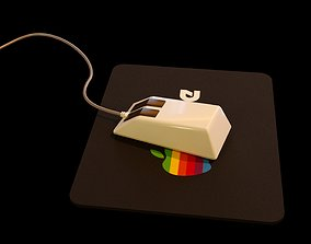 Old PC Mouse 3D model