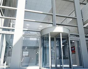 3D model Office Interior Reception 3