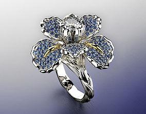 Iris fashion ring 0004 3D print model