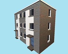 flats small 3D model