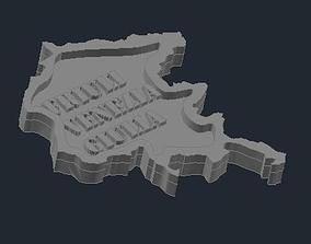 3D printable model Regione Friuli Venezia Giulia