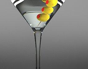 3D Martini Coctail
