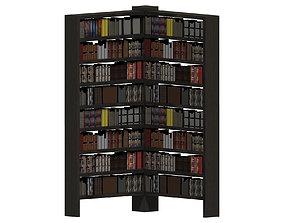3D model Bookshelf living