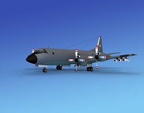 Lockheed P-3 Orion Netherlands 3D model
