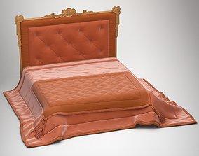 BED 02 bedding 3D model
