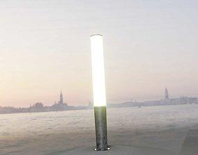 Galvanized Light-Column -19- Street-Light 9 3D model