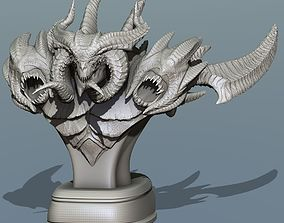 Diablo statue Figure 3D print model