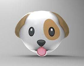 Dog emoji 3D print model